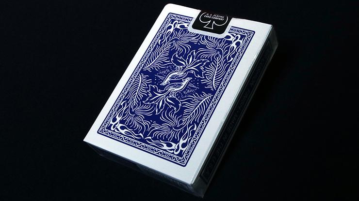 Phoenix Deck Large Index (Blue)... MagicWorld Magic Shop