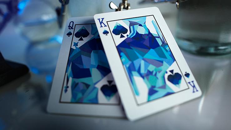 Memento Mori Blue Playing Cards MagicWorld Magic Shop