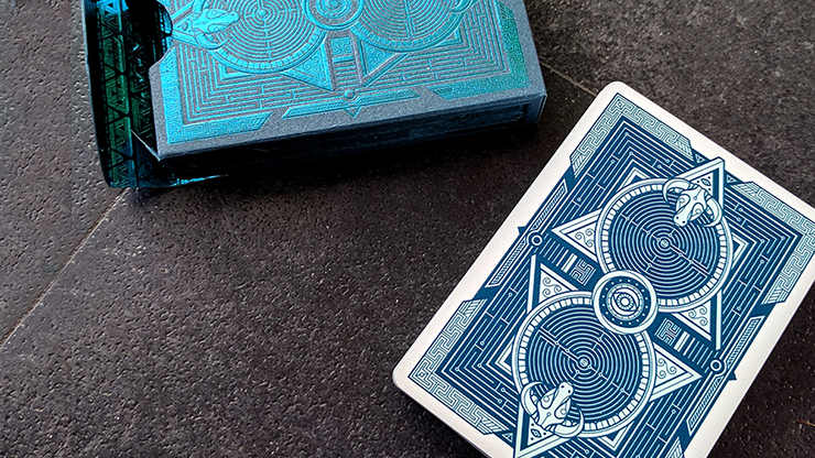 Dedalo Alpha Playing Cards by Giovanni... MagicWorld Magic Shop
