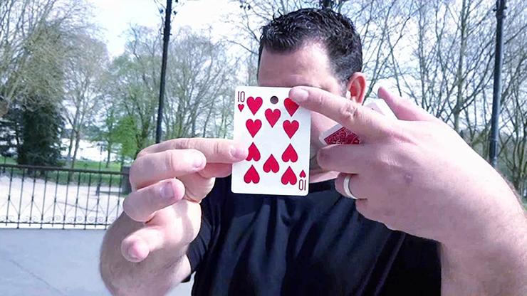 Card on Ribbon by Mickael Chatelain... MagicWorld Magic Shop