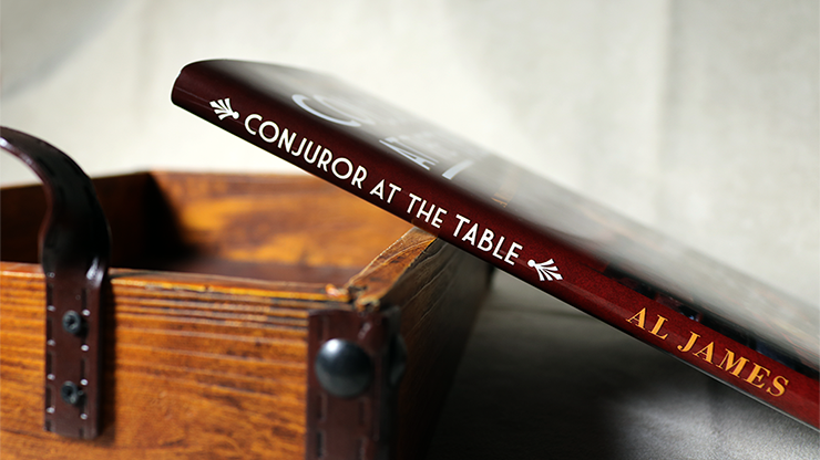 Conjuror at the Table by Al James... MagicWorld Magic Shop