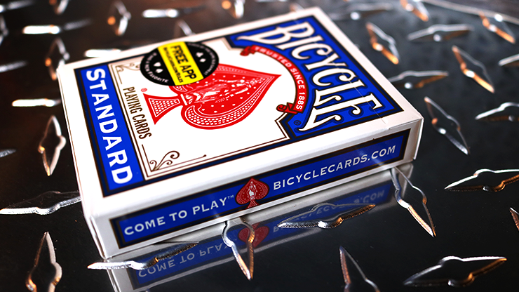 Bicycle Standard Blue Poker Cards (New Box)