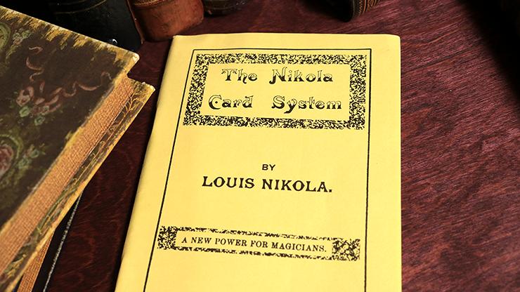The Nikola Card System by Louis... MagicWorld Magic Shop