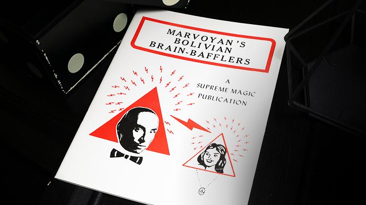 Marvoyan's Bolivian Brain-Bafflers... MagicWorld Magic Shop
