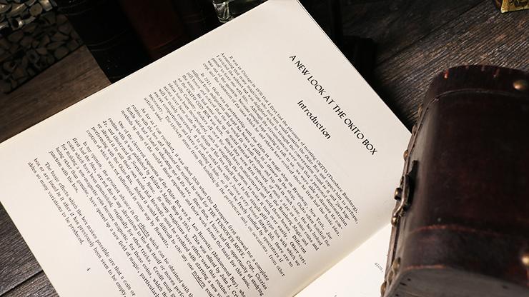 Okito Box by Lewis Ganson - Book MagicWorld Magic Shop