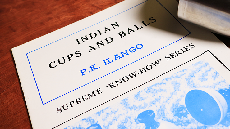 Indian Cups and Balls by P.K. Ilango... MagicWorld Magic Shop