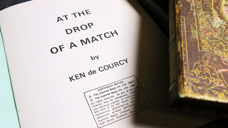At the Drop of a Match by Ken De... MagicWorld Magic Shop