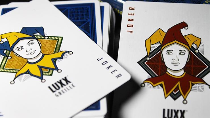 LUXX® Greille (Silver/Navy) Playing... MagicWorld Magic Shop