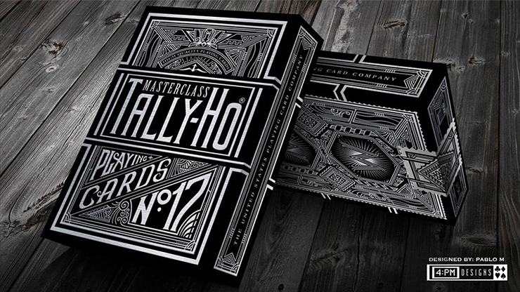 Tally-Ho Masterclass (Black) Playing... MagicWorld Magic Shop