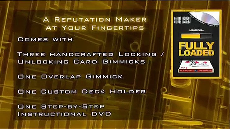 Fully Loaded Red (DVD and Gimmicks)... MagicWorld Magic Shop