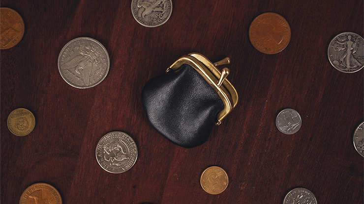 An elegant and perfectly-sized coin purse for the discerning magician! Its unique and important specs are noted below. The entire mouth is made of pure bra... #purse