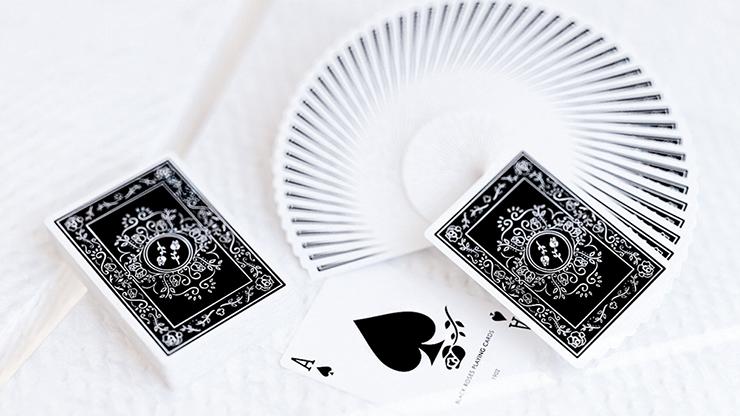 Black Roses Playing Cards MagicWorld Magic Shop