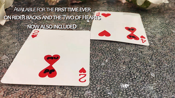 ONE Two of Hearts (Online Instructions... MagicWorld Magic Shop
