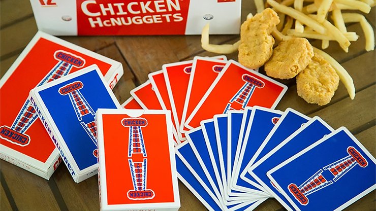 Chicken Nugget Playing Cards -... MagicWorld Magic Shop