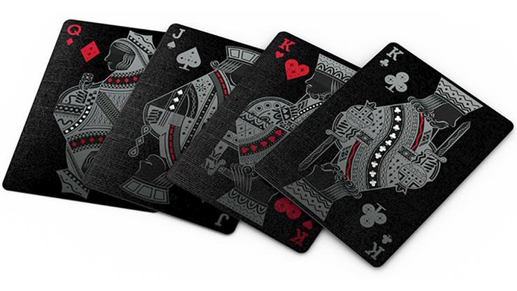 Agenda black playing cards