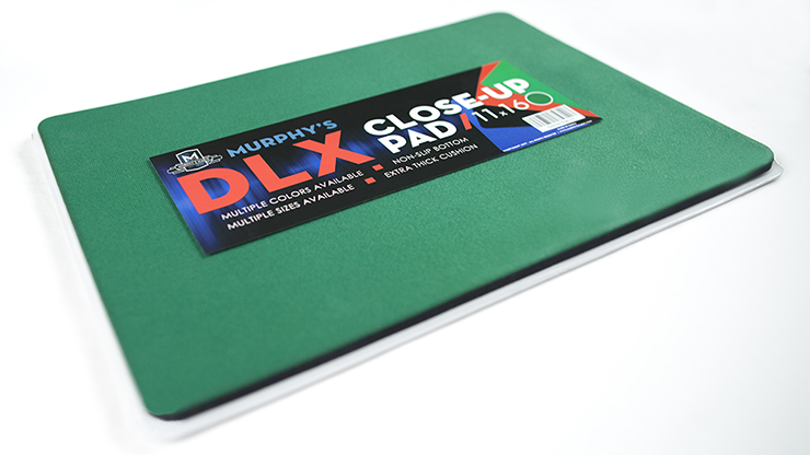Deluxe Close-Up Pad 11X16 (Green) by Murphy's Magic Supplies - Trick