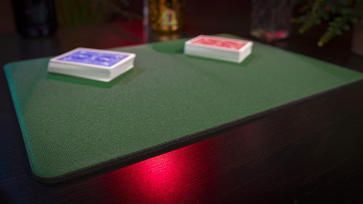 Standard Close-Up Pad 11X16 (Green)... MagicWorld Magic Shop