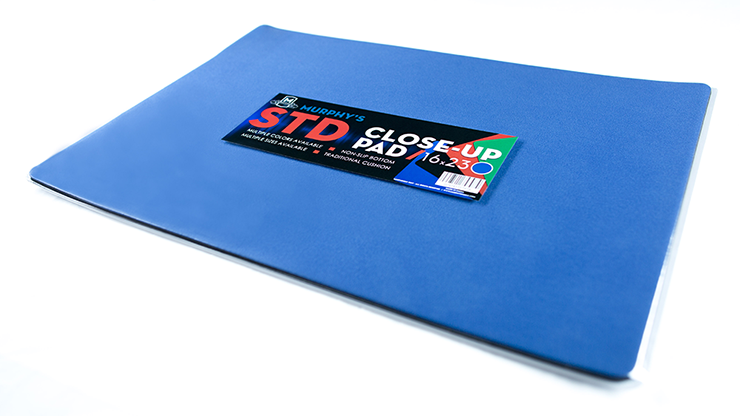 Standard Close-Up Pad 16X23 (Blue) by Murphy's Magic Supplies - Trick