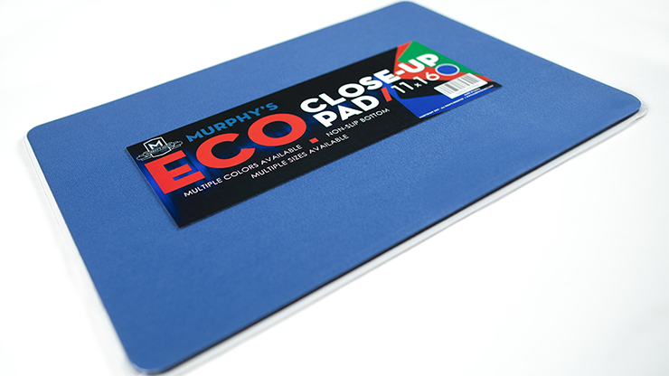 Economy Close-Up Pad 11X16 (Blue) by Murphy's Magic Supplies - Trick