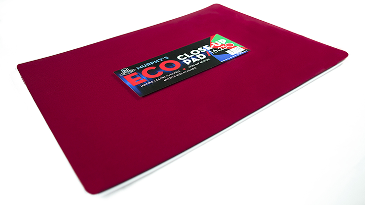 Economy Close-Up Pad 16X23 (Red) by Murphy's Magic Supplies - Trick
