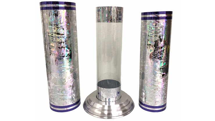 Large Crystal Silk Cylinder 2.0 by Ickle Pickle - Tricks