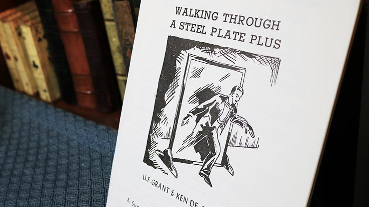 Walking Through a Steel Plate PLUS... MagicWorld Magic Shop