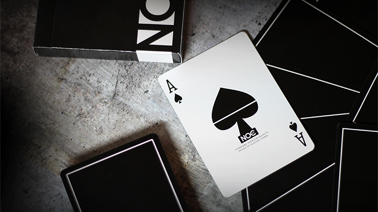 NOC Out: Black Playing Cards MagicWorld Magic Shop