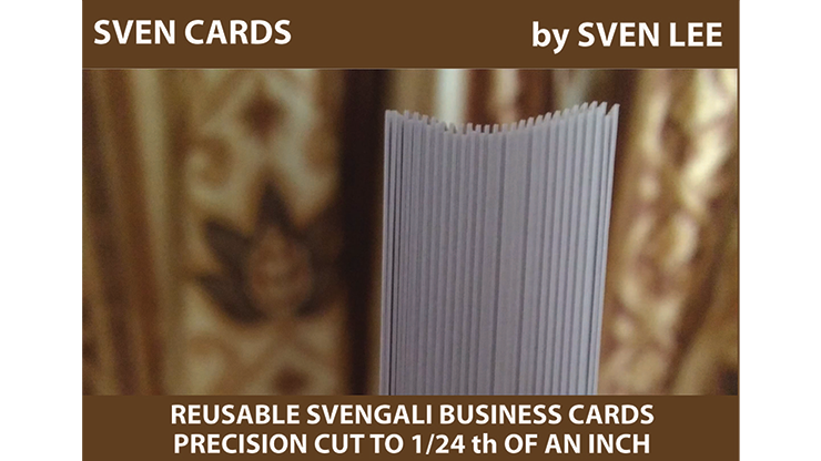 Svengali Cards (Blank) by Sven Lee - Trick