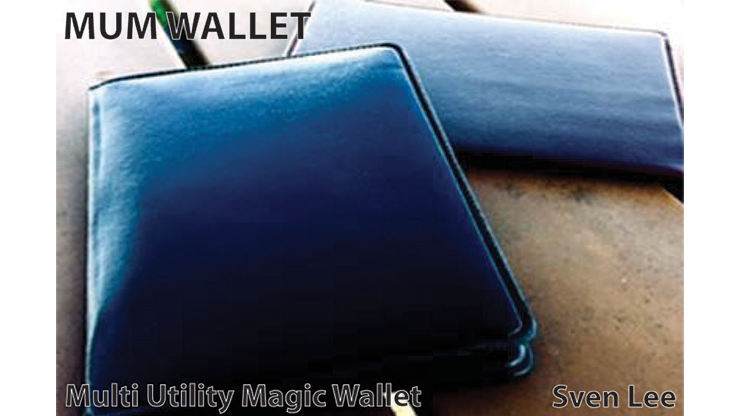 MUM Wallet (Black) by Sven Lee... MagicWorld Magic Shop