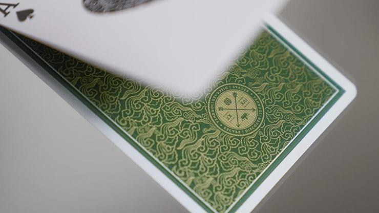 Green VISA Playing Cards by Patrick... MagicWorld Magic Shop