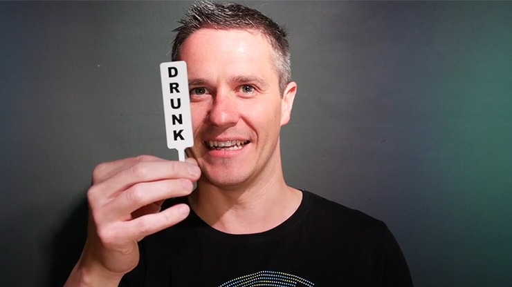The Great Breathalyzer Paddle by MagicWorld - Trick