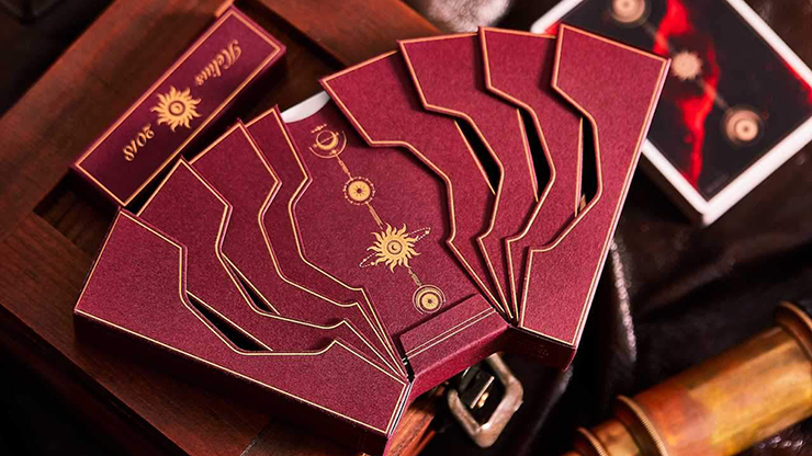 Helius Deluxe Edition Playing Cards MagicWorld Magic Shop