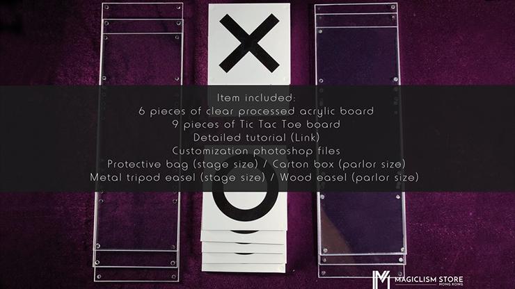 Tic Tac Toe Pro (Parlor) (Gimmick... MagicWorld Magic Shop