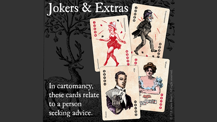Cartomancer Poker Deck - Archetypal... MagicWorld Magic Shop