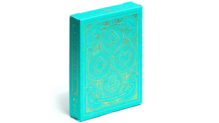 The MGCO Green Playing Cards MagicWorld Magic Shop