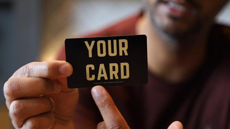 Magicians Insurance Card by Vinny Sagoo - Trick