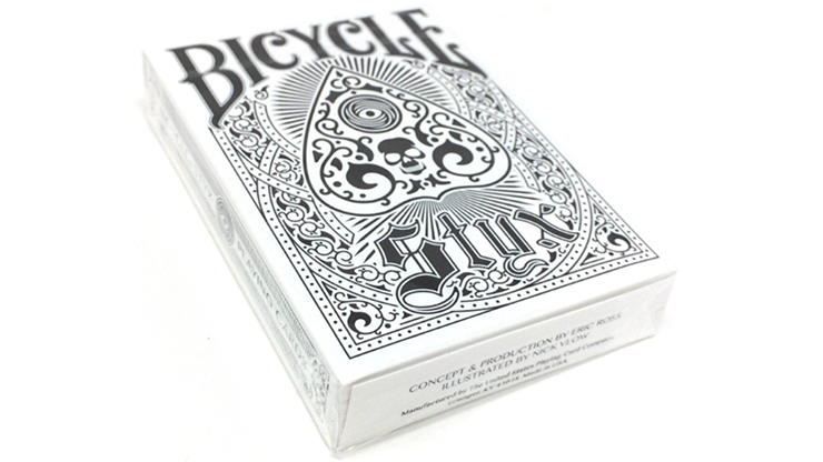 Bicycle Styx Playing Cards (White)... MagicWorld Magic Shop