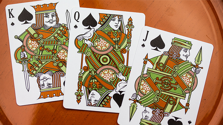 Olive Tally Ho Playing Cards by... MagicWorld Magic Shop