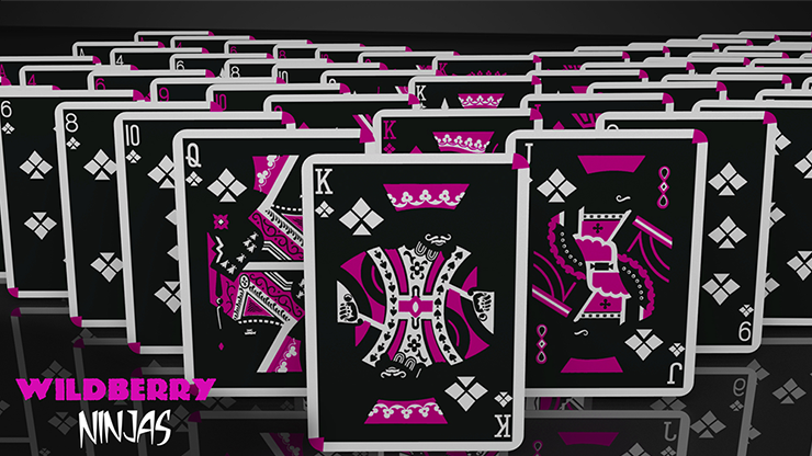 Cardistry Ninja Wildberry by De'vo... MagicWorld Magic Shop
