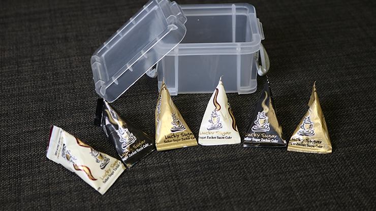 Sugar Packet (3 Regular and 3 Magnetic)... MagicWorld Magic Shop