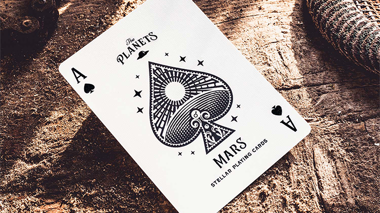 The Planets: Mars Playing Cards MagicWorld Magic Shop