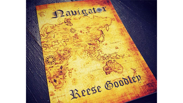 Navigator by Reese Goodley - Book MagicWorld Magic Shop