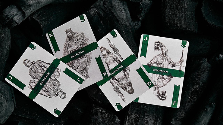 Guard Playing Cards by BOCOPO MagicWorld Magic Shop