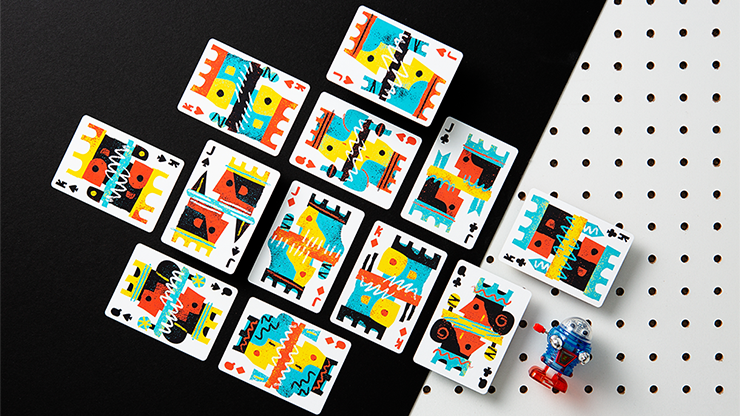 Off the Wall Playing Cards by Art... MagicWorld Magic Shop