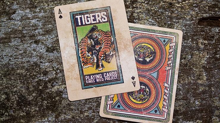 Kings Wild Tigers Playing Cards... MagicWorld Magic Shop