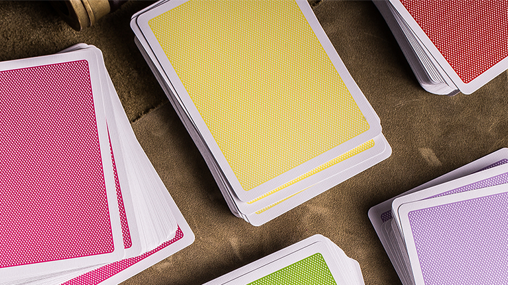 Steel Playing Cards (Yellow) by... MagicWorld Magic Shop