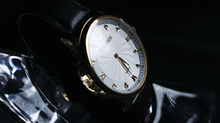Infinity Watch V2 - Gold Case White... MagicWorld Magic Shop