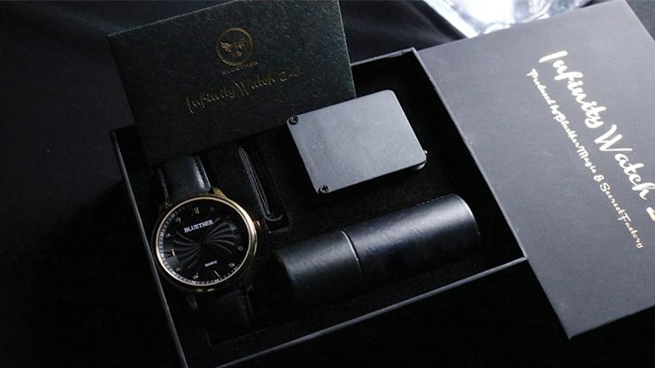 Infinity Watch V2 - Gold Case Black... MagicWorld Magic Shop