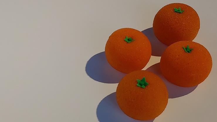 Fruit Sponge Ball (Orange) by Hugo... MagicWorld Magic Shop
