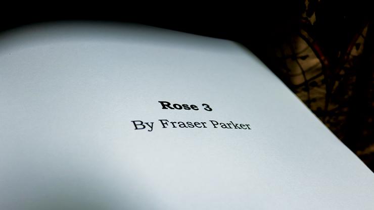 Rose 3 by Fraser Parker - Book MagicWorld Magic Shop